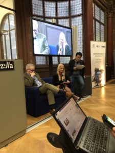 Harnessing Artificial Intelligence to advance Knowledge Societies and Good Governance Mozilla Foundation, Paris, France An Open Discussion following the Internet Governance Forum (IGF) 2018