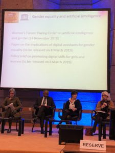 Impact on Artificial Intelligence on UNESCO's field of competence